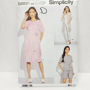 Simplicity #8543 BB plus Size 10-18  US Sewing Pat